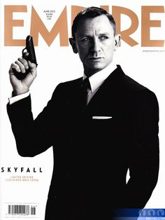 Classic Retro Styling  Daniel Craig in a striking pose as James Bond is  gracing magazine covers in the UK this month to promote  Skyfall      Skyfall    The ... 77ab808378