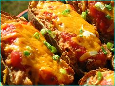 Mexican-Style Twice Baked Potatoes