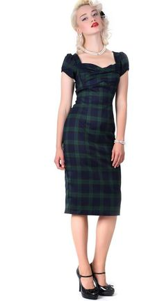 Tartan dress, might be cool as a sleeveless strappy sort of baggy maxi dress