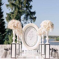 """Стиль """"Диор"""" в декоре свадеб.  Тоже интересная и многогранная тема !"""