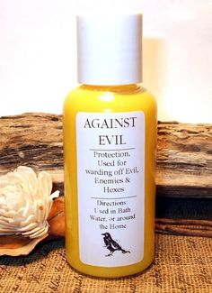 AGAINST EVIL Protection Bath or Home by DragonflyMoonLotions