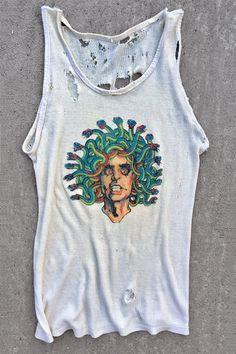 *IN STOCK NOW!* Alice Cooper Medusa • Vintage Tank Top Size M