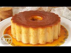 Flan de galletas María | Mi tarta preferida - YouTube Pudding Desserts, Custard Desserts, Köstliche Desserts, Delicious Desserts, Dessert Recipes, Bolo Flan, Flan Cake, Food Cakes, Flan Dessert
