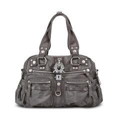 GEORGE GINA & LUCY / Nylon Collection / Handtasche Double B