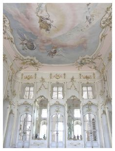 Esterháza Palace, Fertőd, Hungary, built by Prince Nikolaus Esterházy. Sometimes called the 'Hungarian Versailles,' it is Hungary's grandest Rococo palace.