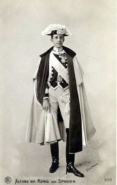 King Alfoso XIII of Spain