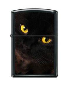Black Cat Windproof Lighter