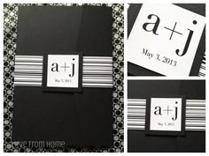 L♥ve From Home: DIY Wedding Invitations