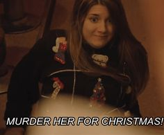 Laura gets into the Christmas spirit. (Carmilla Christmas special)