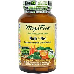 MegaFood  Multi for Men A Balanced Whole Food Multivitamin 60 Tablets * Read more reviews of the product by visiting the link on the image.