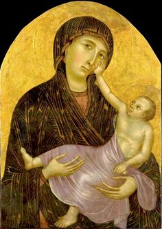 Cimabue - Madonna di Castelfiorentino.