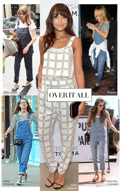 cannot wait for over alls to be back, they had to be my all time favorite piece of clothing