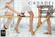 Accepting SS15 Casadei Preorders! Order the upcoming goodies now!
