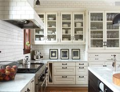 The Enchanted Home: The ultimate shout out to white kitchens....and a major giveaway!