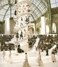 Coco Chanel Fashion Show!  #HighFashion