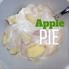 Apple Pie Breakfast Enjoy this simple, yet delicious, breakfast or afternoon snack. Power packed with protein and something sweet to beat th...