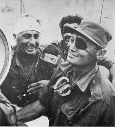 IDF old school: Moshe Dayan.