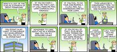 Dilbert- Engage me!
