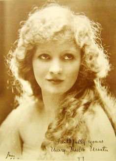 Mary Miles Minter silent film star
