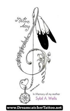 Indian Dreamcatcher Tattoo Designs 08 - http://dreamcatchertattoo.net/indian-dreamcatcher-tattoo-designs-08/