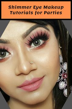 We have collected several shimmer makeup ideas for you to get inspired. They are so fashionable and can be achieved easily. Just stay here and check them out! Shimmer Eye Makeup, Eye Makeup Tips, Makeup Eyeshadow, Makeup Ideas, Beauty Makeup, Beauty Tips, Beauty Hacks, Make Up, Inspired