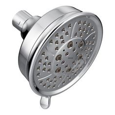 Moen 3638 Multi Function Fixed Shower Head High Pressure 2.5 GPM Flow