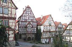 Klostergasse in Bad Wimpfen