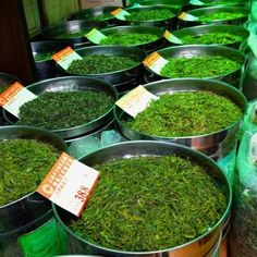 Green tea Shanghai