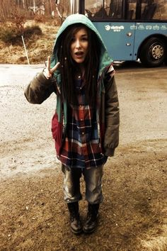 love her style, and her dreads.