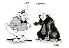 """OÖN-Karikatur vom 17. November 2016: """"Phantastische Tierwesen, und wo sie zu finden sind."""" Mehr Karikaturen auf: http://www.nachrichten.at/nachrichten/karikatur/ (Bild: Mayerhofer)"""