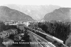 Vittorio Veneto #old la stazione ferroviaria  Data:   Autore:   Marino, Giulio (1890/ 1962)