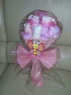 Torta di pannolini diaper cake  bouquet