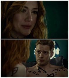 """I can't lose you too."" Clary and Jace. Shadowhunters 2x19"