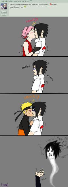 Sasuke x Naruto