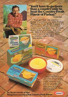 Vintage Ad #1,701: The Country Fresh Flavor of Parkay (Butter!) by jbcurio, via Flickr
