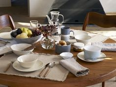 Tableware ideas - LINEN COLLECTION | AW16 CAMPAING - EDIT 2