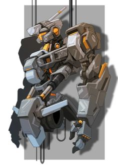 Japanese Mecha (unknown source)