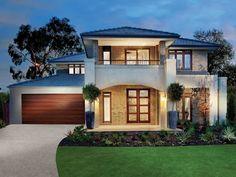 New Modern House Plans In Australia Open House Plans, Beach House Plans, Bungalow House Plans, Home Garden Design, Home Design Plans, New Modern House, Modern Homes, House Extension Plans, Australia House