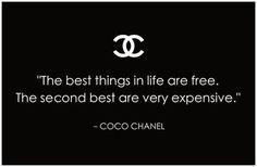 #ConvertToBlack / Coco Chanel