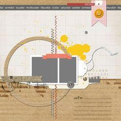 Des créas, un sketch et une promo ! / Creations, sketch and special offer ! Scrapbook Layout Sketches, Scrapbook Templates, Card Sketches, Scrapbooking Layouts, Scrapbook Cards, Sketch 2, Page Maps, Multi Photo, Sketch Inspiration