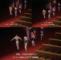 """And obviously Rio knows how to judge whether a building is structurally sound or not. 