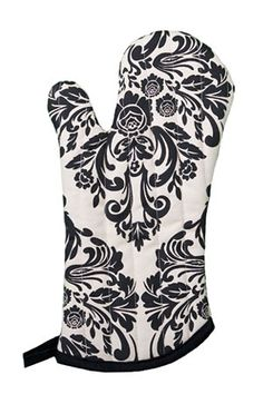 Damask oven mitt - perfect for our themed bridal shower party!