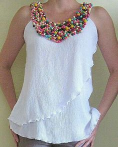 New Crochet Patrones Sueter Ideas Sewing Clothes, Diy Clothes, Clothes For Women, Dress Patterns, Sewing Patterns, Diy Fashion, Fashion Dresses, Blouse And Skirt, Dressmaking