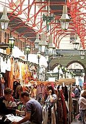 Dublin Landmarks - George's Mall Arcade, Indoors