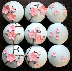 cherry blossom theme wedding cakes | Flossie Pops Cakery