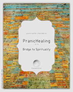 Pranic Healing is a bridge to spirituality.