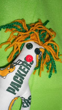 GreenBay Packers Fans...Here is the  Dammit Doll for you...by tobeesgifts on Etsy, $18.95