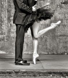Urban Ballerina Engagement Shoot in Los Angeles, California. Photo by Joy Marie Studios.
