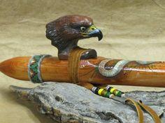 Snake in the Grass flute. www.wind-dancer-flutes.com