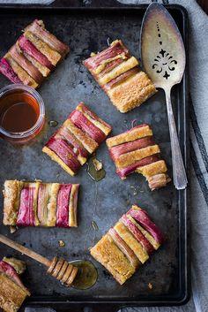 Rustic Rhubarb, Almond, and Honey Tart {Gluten-Free} – The Bojon Gourmet